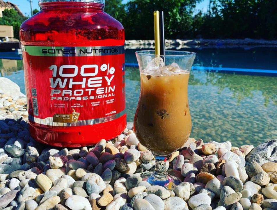 Už ste niekedy ochutnali 100% Whey Protein Professional v príchuti ľadová káva?