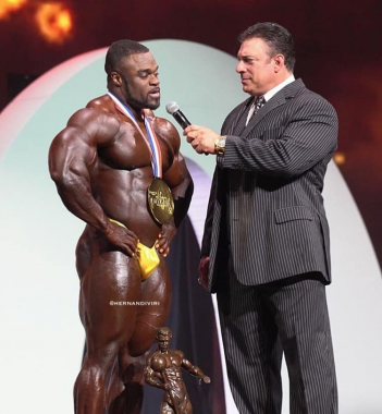 Nový Mr Olympia!! Brandon Curry #teamscitec