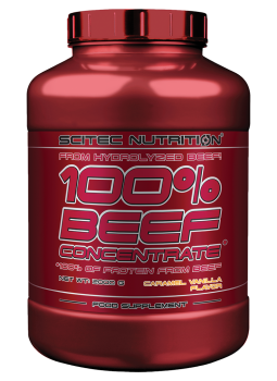 100% BEEF CONCENTRATE 2000G + DARČEK T-SHIRT