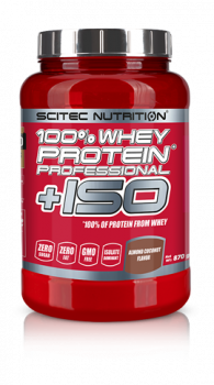 100% Whey Protein* Professional+ ISO 870gr