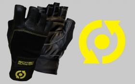 Rukavice - Yellow Leather Style -20% ZL'AVA