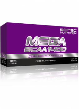 MEGA BCAA 1400 -120 kapsúl -20% ZL'AVA