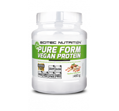 Pure Form Vegan Protein 450 g