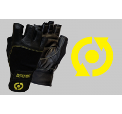 Rukavice - Yellow Leather Style